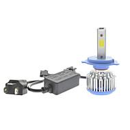 1pcs H7 35W levou lâmpada do farol H7 vw LED de alta feixe levou bulbo H7 corolla lâmpada LED kit de farol