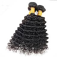 Człowieka splotów włosów Włosy peruwiańskie Pofalowana 18 miesięcy 3 elementy sploty włosów