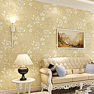 New Rainbow™Floral Wallpaper Contemporary Wall Covering , Non-woven Paper European pastoral 3D