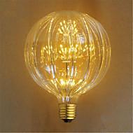 2W E26/E27 Lâmpada Incandescente 49 LED Dip 100 lm Amarelo Decorativa AC 220-240 V 1 pç