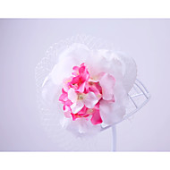Women's Flannelette Chiffon Net Headpiece-Wedding Special Occasion Outdoor Hats 1 Piece