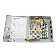 12v dc 10α 9 δύναμη κουτί προσφοράς αυτόματη επαναφορά / 12v10a παροχή ρεύματος 120W / διακόπτη παροχής ρεύματος, 110 / 220V ac είσοδο