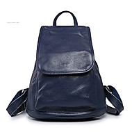 Handcee® Hot Selling Woman Real Leather Plain Woman Backpack