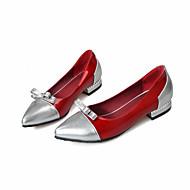 Γυναικεία παπούτσια-Χωρίς Τακούνι-Γραφείο & Δουλειά Καθημερινό Αθλητικά-Επίπεδο Τακούνι-Ανατομικό-PU-Ροζ Κόκκινο Άσπρο Μπεζ