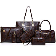 Women Special Material / leatherette Formal / Outdoor / Office & Career Bag Sets