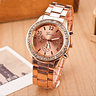 Women's Fashion Leisure Quartz Steel Belt Wrist Watch(Assorted Colors) Cool Watches Unique Watches