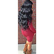 8-24 Inch Virgin Human Hair Full Lace Wig Peruvian Body Wave Glueless Full Lace Human Hair Wig