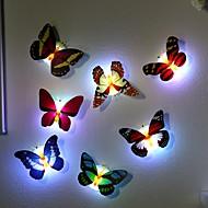 7 kleur veranderende vlinder led nachtlampje lamp