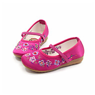 Flats Spring Fall Ballerina Light Up Shoes Silk Casual Flat Heel Black Pink Red Fuchsia