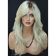 mode d'onde blond port quotidien perruque pour les femmes Blande résistants à la chaleur