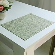 Rectangulaire Impression Chemins de table , Coton mélangé Matériel Hôtel Dining Table / Tableau Dceoration