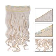 5 klipy zprohýbané 60 # umělých vlasů klip na prodlužování vlasů pro ženy více dostupných barev