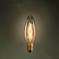 E14 25w C35 pálení špička žlutého světla 220v Edison žárovku malý lo lo retro světelný zdroj