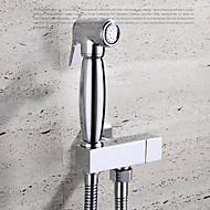 ברזי בידה  ,  עכשווי  with  כרום ידית אחת חור אחד  ,  מאפיין  for התקן קיר / נשלף