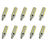 7W E14 / E17 / E12 / E11 LED Corn Lights T 152LED SMD 3014 550-600LM   Warm White / Cool White Decorative AC110 / AC220 V 10 pcs