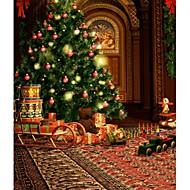christmastree fundo Photo cenários de fotografia de estúdio 5x7ft