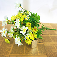 Gren Silke Plastikk Kurvplante Bordblomst Kunstige blomster 33*14*3.5cm