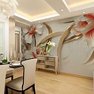 3D Tapet til Hjemmet Moderne Tapetsering , Lerret Materiale selvklebende nødvendig Veggmaleri , Tapet