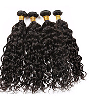 Vinsteen Vietnamese Texture Water Wave(4 pcs 8 10 12 14 inch)Unprocessed Human Hair Weaves Malaysian Hair Extensions Bundles Dyeable 8A Best Quaility