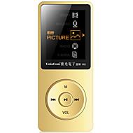 UnisCom MP3/MP4 MP3 / WMA / WAV / FLAC / APE / OGG / AAC Rechargeable Li-ion Battery