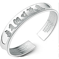 Bracelet Bangles Sterling Silver Others Natural Birthday Gift Valentine Jewelry Gift Silver,1pc