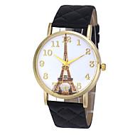 Paris Eiffel Tower Number Leather Gold Reloj De Lujo Women Watches Wrist Relojes Mujer Dress Relogio Feminino Hour Quartz Clock