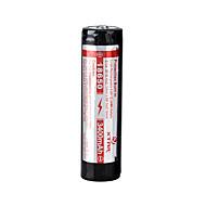 Xtar bateria 3.6v li-ion recarregável 18650 3400mAh
