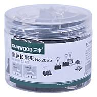 Sunwood® 2025 19 Mm Color Long Tail Clip 40Pcs/Set