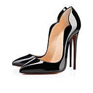 Women's Heels Spring Summer Fall Other Patent Leather Office & Career Party & Evening Casual Stiletto Heel Black