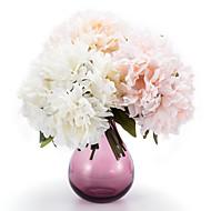 אדמוניות משי פרחים מלאכותיים ססגוניות פרחים לחתונה 1pc אופציונלי / סט