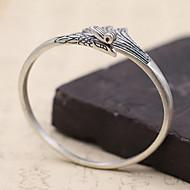 Pánské Dámské Kotníkové náramky Stříbro Módní Retro Matné Šperky Stříbrná Šperky 1ks