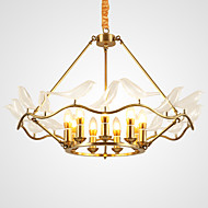 Chandelier ,  Modern/Contemporary Brass Feature for Designers Metal Living Room Dining Room Study Room/Office