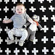 Pletený Viz fotografie,S potiskem Geometrický Bavlna / polyester přikrývky S:90*110cm M:110*130cm