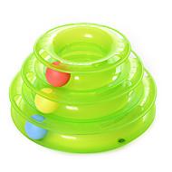 Игрушка для котов Игрушки для животных Шарообразные Интерактивный Игровой круг с шариками