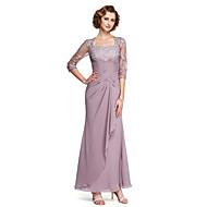 2017 Lanting bride® kappe / kolonne mor til bruden kjole - elegant ankel-længde halv ærme