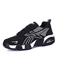 Unisex Athletic Shoes Winter Mary Jane Synthetic Outdoor / Athletic Flat Heel Lace-up Blue / Yellow / Black and White Sneaker