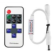 mini-afstandsbediening voor enkele kleur led strip verlichting rf dimmer voor 12 V DC led strips 12a draadloze afstandsbediening voor