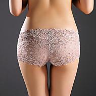 Women Sexy Jacquard Ultra Sexy PantiesNylon