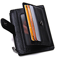 Men Card & ID Holder Cowhide Sports Casual Outdoor Office & Career Shopping