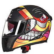 GXTのg358のオートバイ電気自動車の男のための二重レンズ防曇フルヘルメット