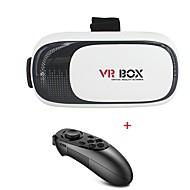 vr 3D-Brille Version 2.0 Virtual-Reality-Video-Film-Spiel-Gläser mit Fernbedienung Headset
