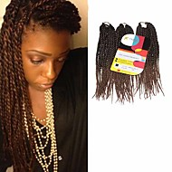 Senegal Twist pletenice Ekstenzije za kosu 12Inch Kanekalon 81 Strands Nasukati 125g gram Sušilo za pletenice