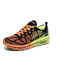 Muškarci Atletičarke tenisice Proljeće Jesen Udobne cipele PU Aktivnosti u prirodi Ravna potpetica Vezanje Plava Zelena Crvena Trčanje