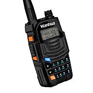 Wanhua uv6s walkie talkie vhf 136-174mhz uhf 400-520mhz 128ch 8w toveis radio