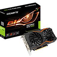 gigabyte videa grafická karta gtx1050 g1 herní rychlost větru oc 1417-1531mhz / 7008mhz 2GB / 128bit GDDR5