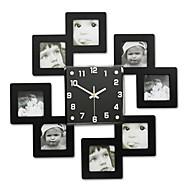 Moderne/Contemporain Bureau / Affaires Famille Ecole/Diplôme Amis Horloge murale,Nouveauté Cristal Métal 45*45 Intérieur Horloge