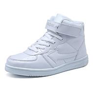 לבנות-נעלי ספורט-PU-נוחות-שחור לבן כחול ים-יומיומי-עקב שטוח