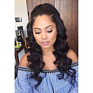 alta qualidade de cabelo humano perucas cheias do laço onda mulheres negras brasileiro do cabelo virgem cheia do laço peruca