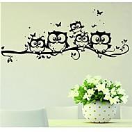 Zvířata Samolepky na zeď Samolepky na stěnu Ozdobné samolepky na zeď,Vinyl Materiál Snímatelné Home dekorace Lepicí obraz na stěnu