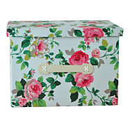 raylinedo® 26L simuloitu vuori kestävä kangas taitettava säilytyslaatikko vaatteita huopa kaapissa villapaita järjestäjä kangas kukkia